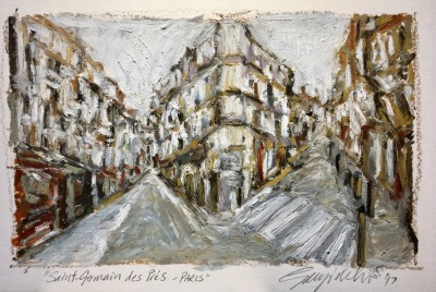 Saint Germain des Prés (SOLD)