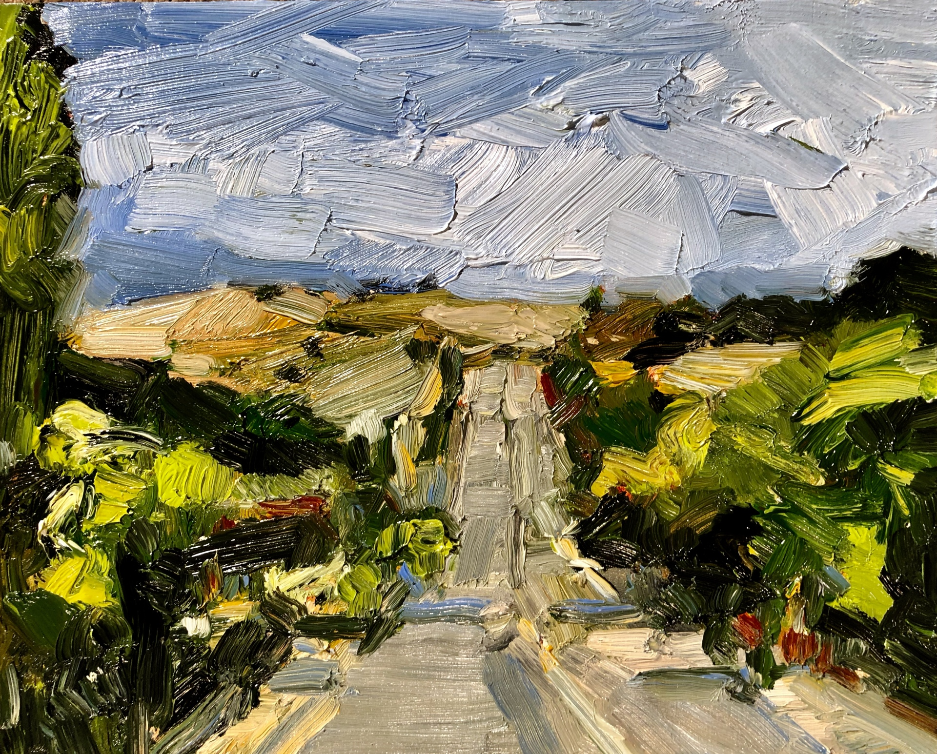 Driving Down Yass Street (SOLD)