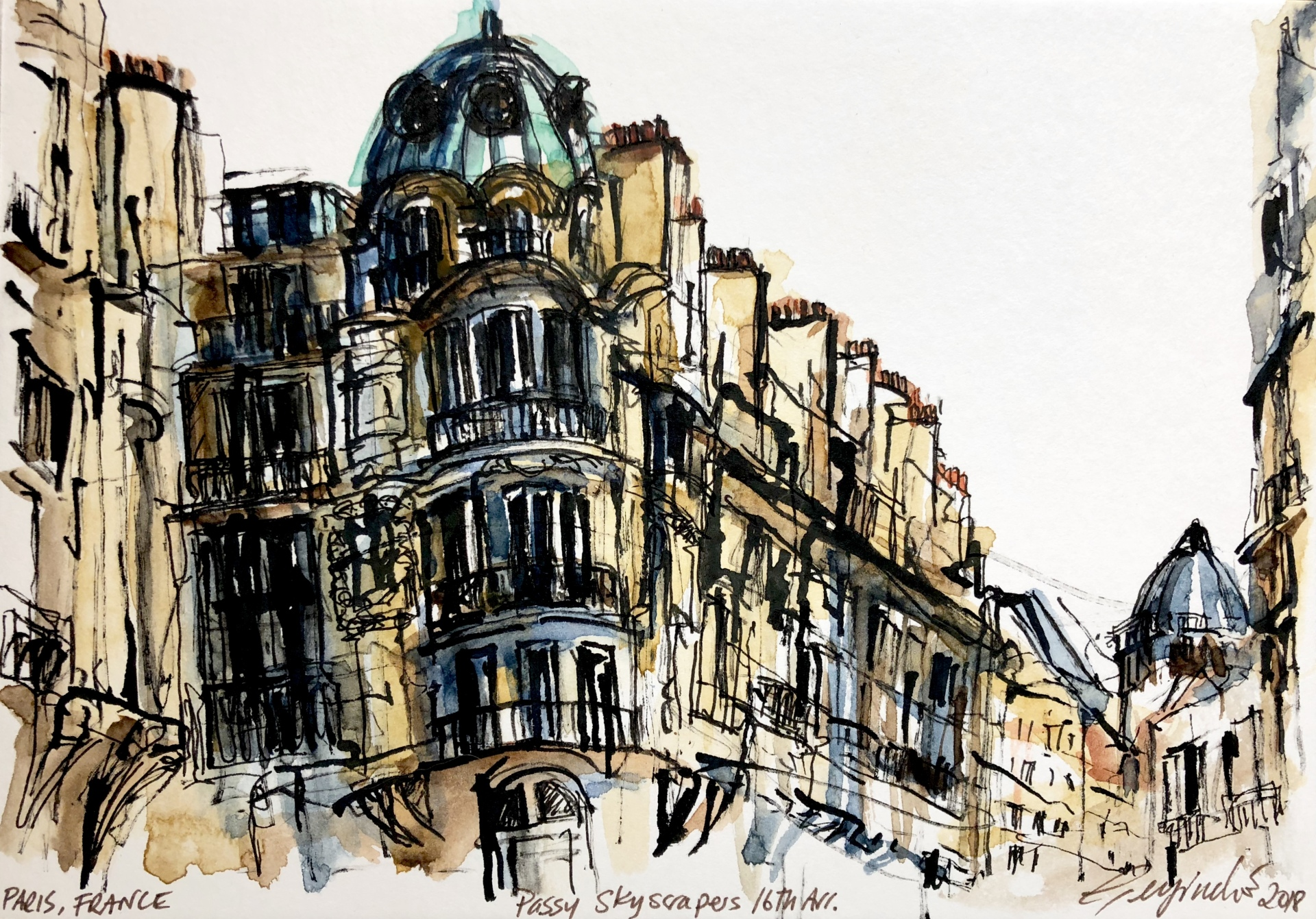 Wandering 16th Arrondissement, Paris (SOLD)